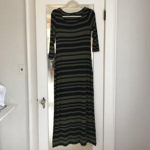 Cynthia Rowley Striped Maxi Dress