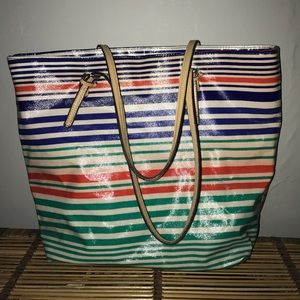 Colorful Merona tote from Target