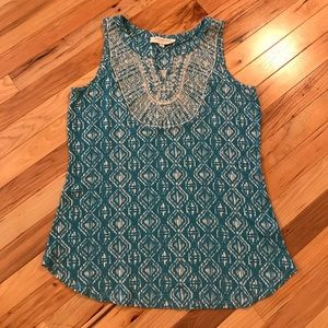 EUC Skies Are Blue Maternity Tank Stitch Fix
