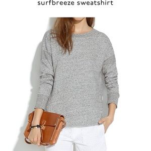 MADEWELL - Surfbreeze Cotton Sweatshirt Grey, XS