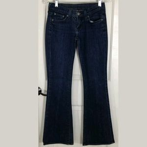 Lucky Brand Jeans Low Rise Flare Leg ZOE 25