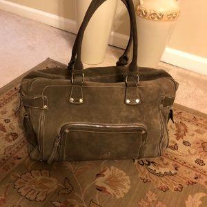 Authentic Longchamp Suede bag