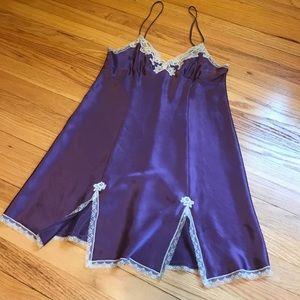 Other - Morgan Taylor Intimates purple night slip