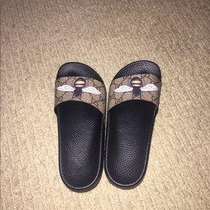 25bd8c497 Gucci Shoes - Gucci bumblebee slides