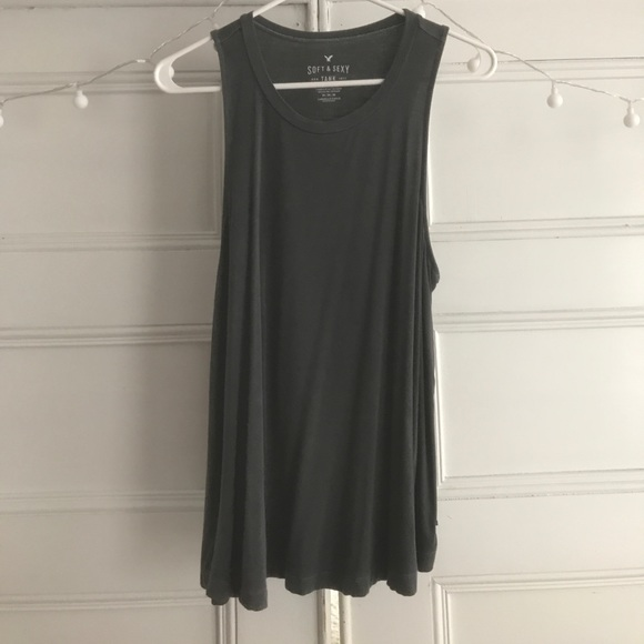 "American Eagle Outfitters Tops - American Eagle Long ""Soft&Sexy"" Tank Top. Size M"