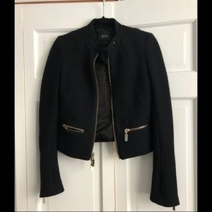 Black Jacket with Gold detail