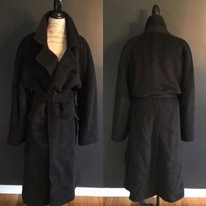 Vintage Perry Ellis Belted Trench Coat