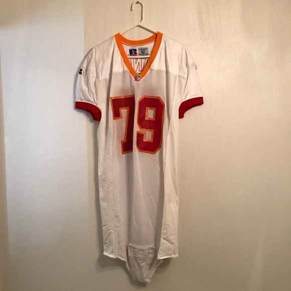 outlet store 4863e caa91 Russell Athletic Vintage Bucs Manny #79 Jersey 50