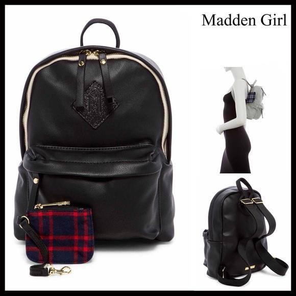 f262981a6b Steve Madden Bags | Gift Perfectmadden Girl Backpack | Poshmark
