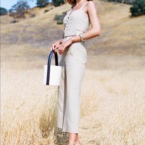 d3cb6842a02 Staud Other - 🍊Staud Mango Linen Jumpsuit chic 70s