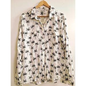 Palm tree blouse