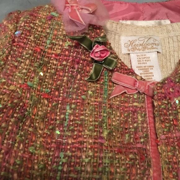 Biscotti Dresses - New Holiday Dress Jacket Set 4T