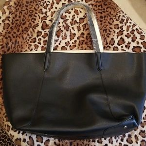 Black/Gold Reversible Tote NWT