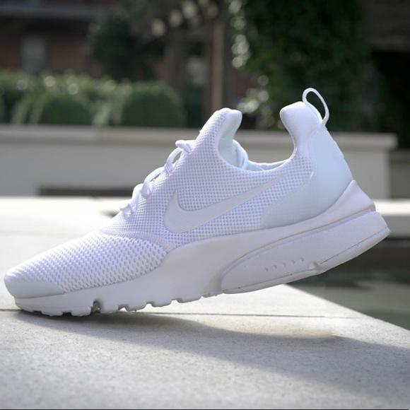 dff7fd0320a31 NWT Nike Air Presto FLY White WMNS