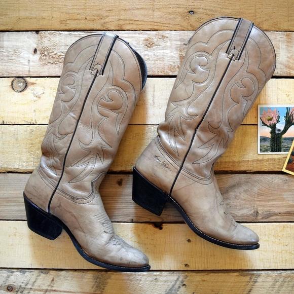 efc0a3f193d Vintage Women's 6 1/2 Kenny Rogers Cowboy Boots