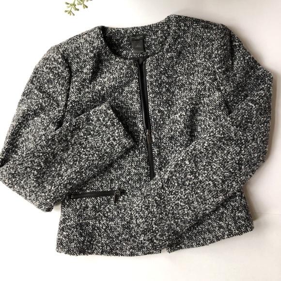 Ann Taylor Jackets & Blazers - Ann Taylor Wool Jacket w/Pockets; size 0; NWT