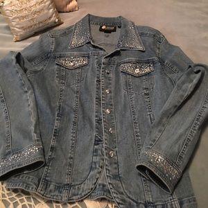New Christine Alexander boutique jacket M