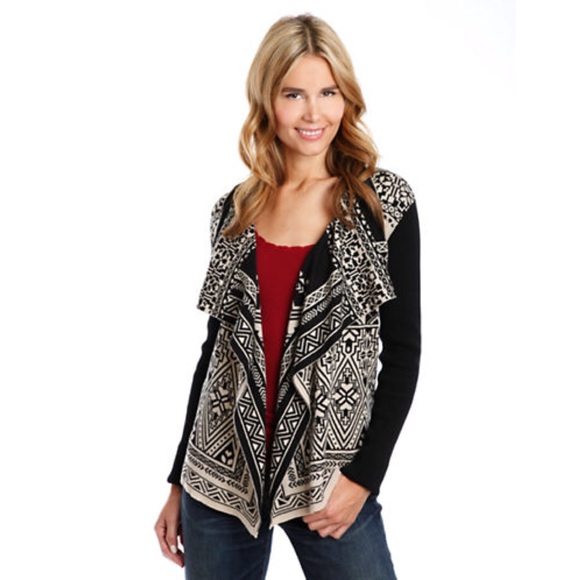 65% off Lucky Brand Sweaters - [Lucky Brand] Waterfall Cardigan ...