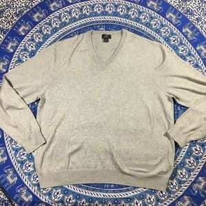 Brooks Brothers 346 Supima cotton V nk sweater XXL