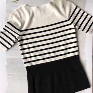 Ann Taylor Sweaters - Ann Taylor Knit Short Sleeve Top; size XXSP