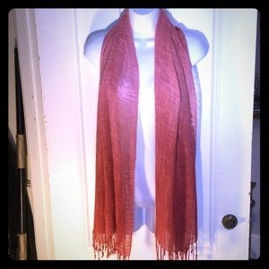 Accessories - Pink Ombré Shawl