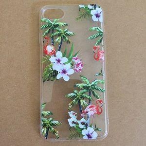 iPhone 8 Tropical Flamingo Case