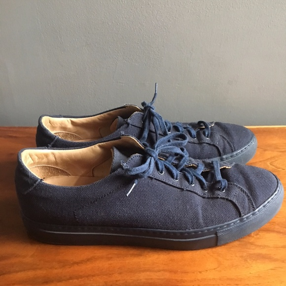 6893abf20719 Common Projects Other - Common Projects Achilles Premium Low Navy Canvas