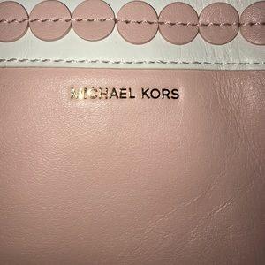 BRAND NEW Michael Kors XL leather clutch!!!