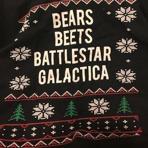 Tops - Bears beets battlestar galactica sweatshirt