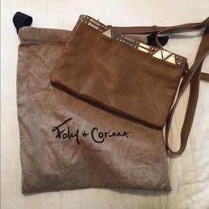Foley + Corinna genuine leather cross body bag
