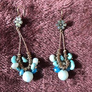 Jewelry - Dangly stone earrings