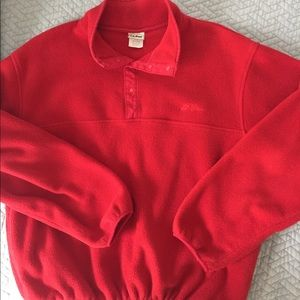 L.L. Bean fleece sweater