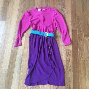 Vintage Leslie Fay Women's Dress
