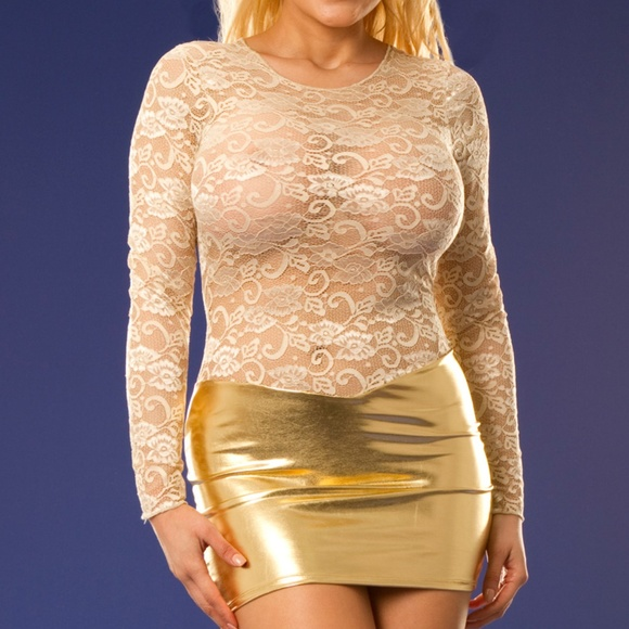Long Sleeved Stretch Bodycon Mini Dress Boutique Wicked Temptations