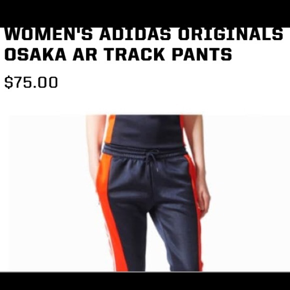 Adidas originals Osaka track pants new xl NWT