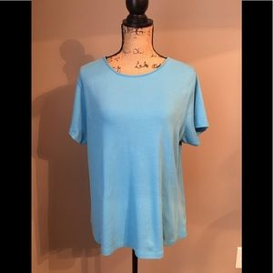 Coldwater Creek 100% cotton soft Tee