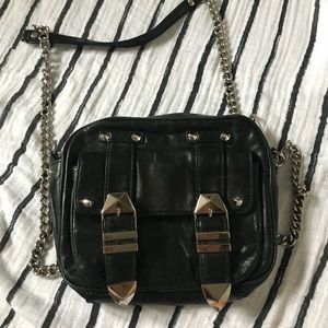 Rebecca Minkoff Boyfriend Crossbody Bag in Black
