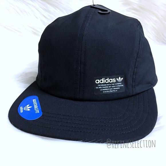 d787b0f5cbb Adidas NMD Trainer Four Panel Black Hat Cap
