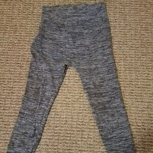 Maternity fleece leggings