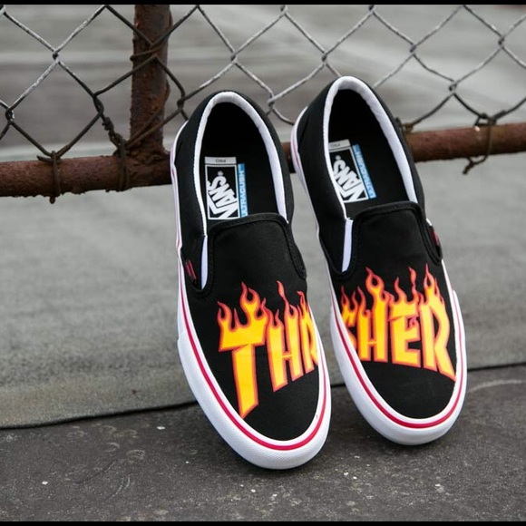 Thrasher Vans PRICE IS FIRM. M 5a02007f2fd0b7e575028b3c 7b2fa00e62db