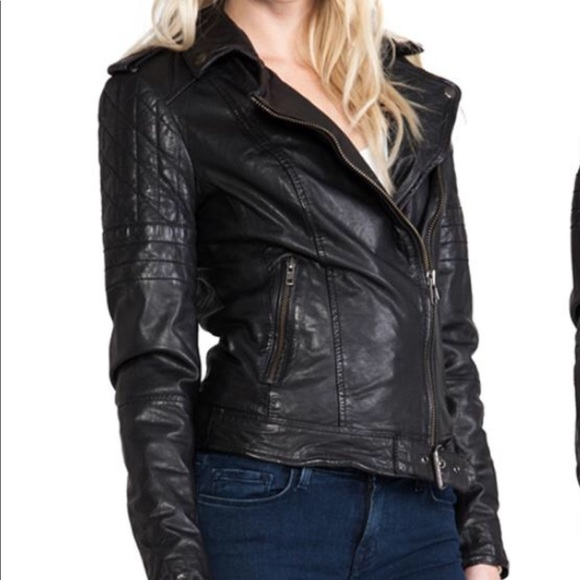 60% off Muubaa Jackets & Blazers - Nido Quilted Moto Leather ... : quilted biker leather jacket - Adamdwight.com