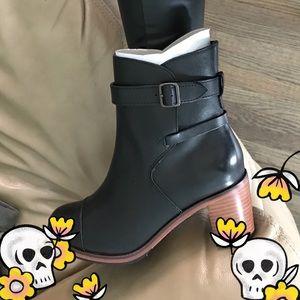 Samantha Pleet - Leather Booties