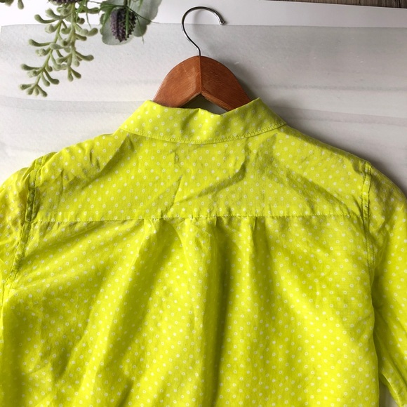 LOFT Tops - LOFT Button Down Shirt; size XXSP; cotton/silk