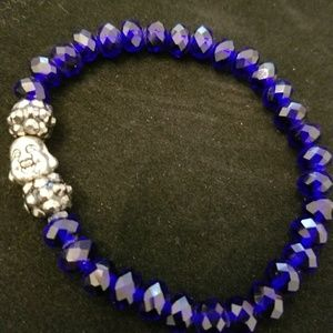 Handmade gemstone  Buddah bracelet