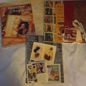 Other - Altered scrapbooking page kits