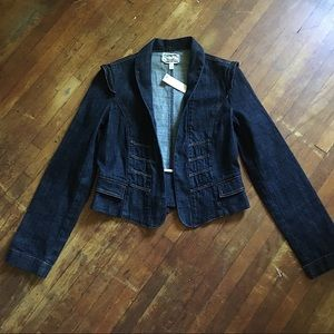 Brand new current Elliott denim jacket small