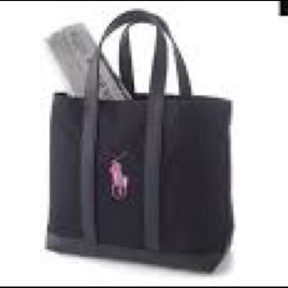 e42eaaf612 Ralph Lauren Pink Pony Tote Bag. M 5a020ae92599fe20cd02ab94