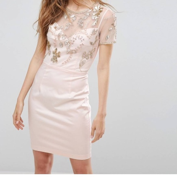 6a0cbf62e298 French Connection Dresses & Skirts - NWT French Connection Jasmine Pink  Dress
