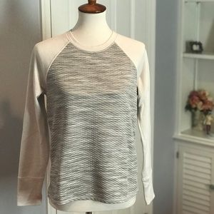 Athleta Long Sleeve crew neck top