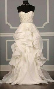 Dresses & Skirts - Strapless empire waist wedding dress